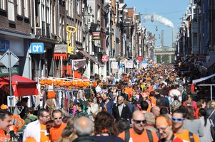 Amsterdam - Queen's day 2012